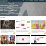 Site pour le MOOC Gestion de projet