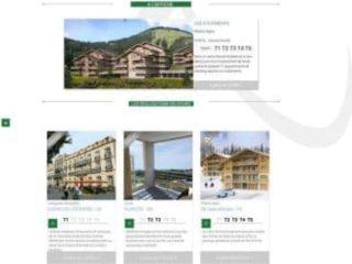 Page d'accueil site promoteur version en Joomla 3